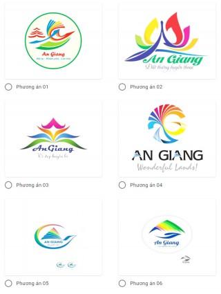 Bình chọn phương án thiết kế biểu trưng và khẩu hiệu du lịch An Giang