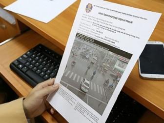 Người vi phạm quy định giao thông sẽ được nộp phạt tại nhà
