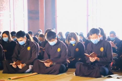 Giáo hội Phật giáo bắt buộc mọi người khi đến chùa phải đeo khẩu trang