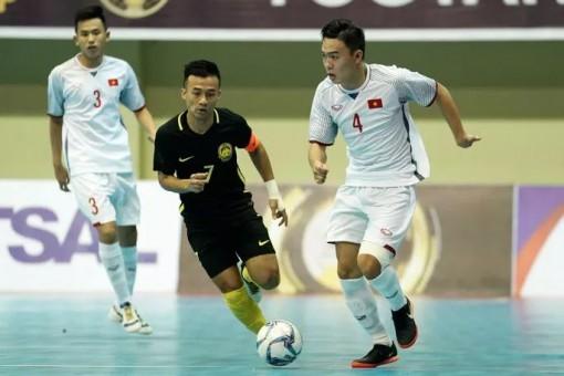 Futsal Việt Nam tranh suất dự World Cup