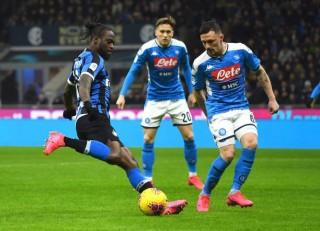 Lukaku tịt ngòi, Inter thất thủ trước Napoli ở Cúp QG Italia