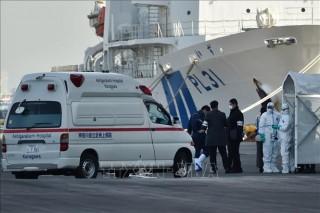 Thêm 44 trường hợp nhiễm mới trên du thuyền Diamond Princes