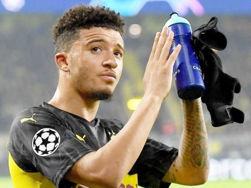 Liverpool gia nhập cuộc đua giành chữ ký của Jadon Sancho