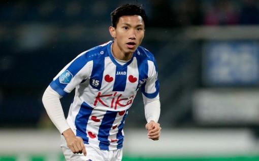 """Lý do Văn Hậu """"mất tích"""" ở đội một của SC Heerenveen"""