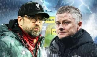 Trận Chelsea - MU có nguy cơ bị hoãn vì siêu bão
