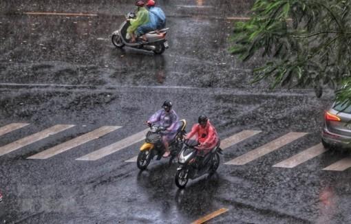 Không khí lạnh gây mưa rào và dông rải rác, Hà Nội chuyển rét đậm