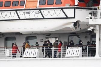 Nhật Bản xác nhận 355 trường hợp nhiễm COVID-19 trên du thuyền Diamond Princess