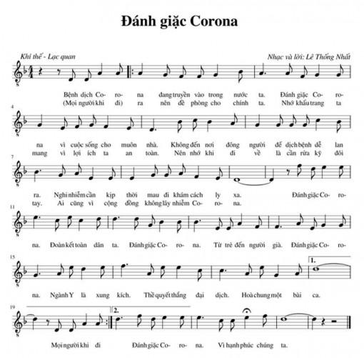 Nhiều ca khúc về COVID-19 ra đời cổ vũ tinh thần mọi người vượt qua dịch bệnh