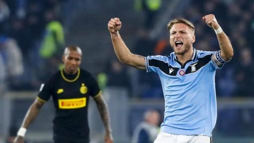Thua ngược Lazio, Inter Milan mất ngôi đầu Serie A về tay Juventus