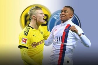 Dortmund - PSG: Đối đầu thượng đỉnh Erling Haaland - Kylian Mbappe