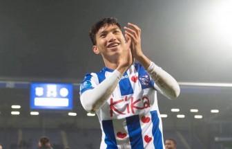 Văn Hậu ghi dấu ấn, giúp đội trẻ SC Heerenveen thắng đậm