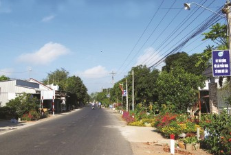 Phú Tân có thêm 3 xã nông thôn mới