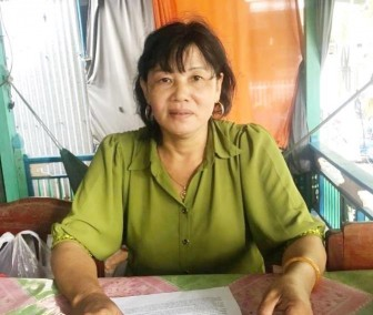 Trả lời phản ánh của bà Nguyễn Thị Dừa