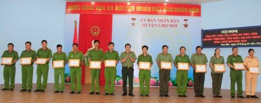 Tổng kết công tác Công an tham gia xây dựng nông thôn mới