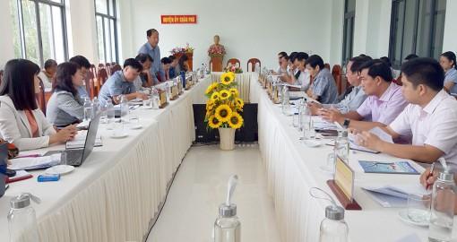 Châu Phú họp đóng góp văn kiện Đại hội Đảng bộ huyện lần thứ XII