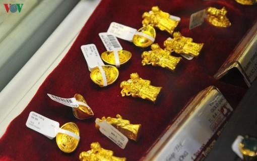 Giá vàng tiếp tục giữ vững ở mức 45 triệu đồng/lượng