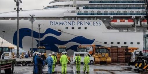 Số người Indonesia nhiễm Covid-19 trên tàu Diamond Princess tăng thêm