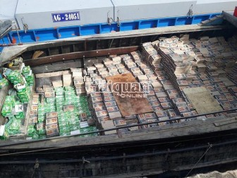 Hải quan An Giang khởi tố vụ buôn lậu nước ngọt trên 8,6 tỷ đồng
