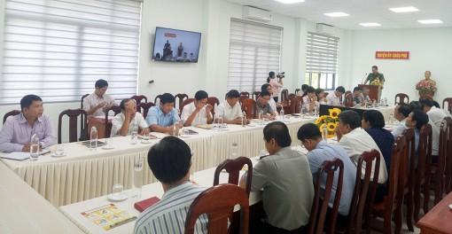 Ban Tuyên giáo Huyện ủy Châu Phú tổ chức hội nghị báo cáo viên tháng 2