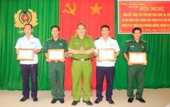 Tổng kết công tác phối hợp giữa Công an, Bộ đội Biên phòng và Hải quan trong đấu tranh phòng, chống tội phạm