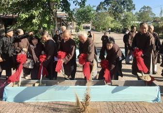 Khởi công Trường Trung cấp Phật giáo Hòa Hảo