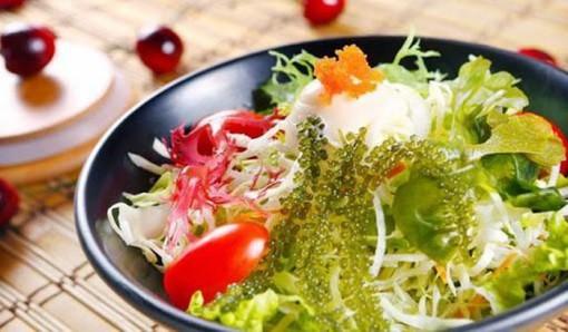 Các món ăn lạ miệng chế biến từ rong nho biển