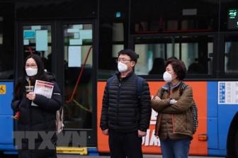 Hàn Quốc đã có 556 ca nhiễm, 4 người tử vong vì COVID-19