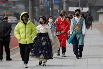 Hàn Quốc ghi nhận thêm 46 người nhiễm nCoV, nâng tổng số lên 602 ca