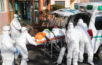 Dịch COVID-19: Hàn Quốc có ca tử vong thứ 8, ca nhiễm lên tới 833