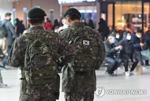 11 binh sĩ Hàn Quốc mắc Covid-19, 7.700 binh sĩ khác bị cách ly