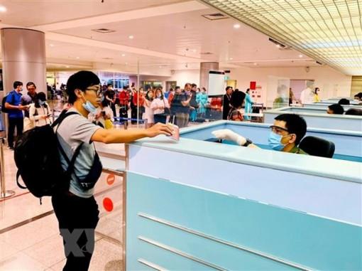 Bắt buộc người nhập cảnh từ Hàn Quốc phải khai báo y tế từ 23-2