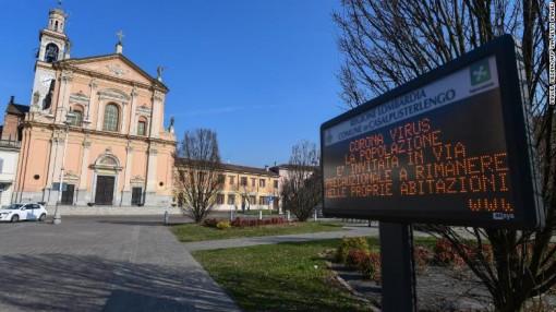 Italy ghi nhận ca tử vong thứ 5 vì COVID-19