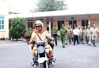 Công an TP. Châu Đốc: Phấn đấu thực hiện thắng lợi nhiệm vụ đảm bảo an ninh trật tự