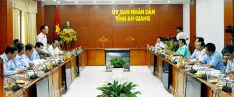 Bộ Nông nghiệp và Phát triển nông thôn làm việc tại An Giang