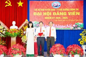 Châu Thành: Đại hội điểm Chi bộ trực thuộc Huyện ủy