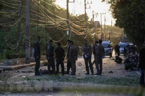 Nhiều người bị thương trong vụ nổ bom tại miền Nam Thái Lan