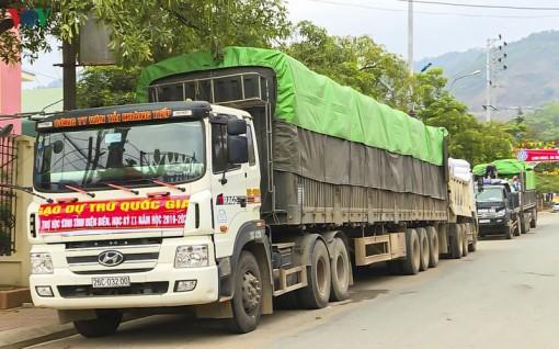 Phân bổ hơn 2.800 tấn gạo hỗ trợ cho học sinh khó khăn ở Điện Biên