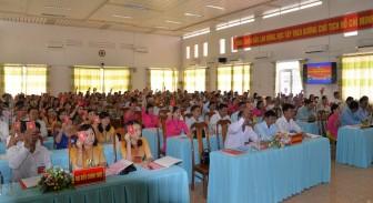 Đại hội điểm Đảng bộ thị trấn An Châu lần thứ XVI (nhiệm kỳ 2020-2025)