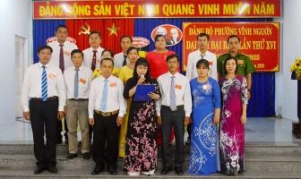 Đại hội đại biểu Đảng bộ phường Vĩnh Nguơn lần thứ XVI (nhiệm kỳ 2020-2025)