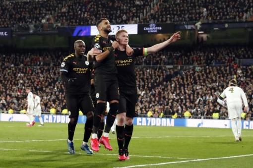 HLV Pep Guardiola: 'Real Madrid có thể ngược dòng ở lượt về'