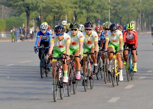 Xe đạp nữ An Giang quyết tâm đoạt thứ hạng cao