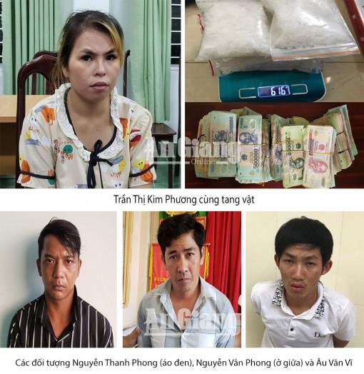 Công an tỉnh An Giang triệt xóa đường dây ma túy liên tỉnh