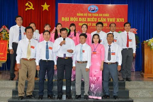 Đại hội điểm Đảng bộ thị trấn An Châu lần thứ XVI (nhiệm kỳ 2020-2025) thành công tốt đẹp