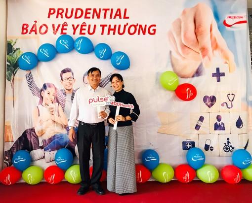 Prudential Châu Đốc-Tân Châu-Tri Tôn-Hồng Ngự chung tay cùng khách hàng trước dịch bệnh bệnh Covid-19