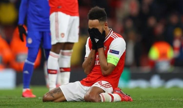 Aubameyang lập siêu phẩm, Arsenal vẫn dừng bước ở Europa League