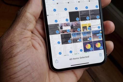 Cách chọn nhanh nhiều ảnh cùng lúc trên iPhone và iPad