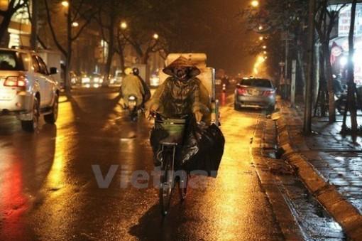 Đêm 29-2, Bắc Bộ, Bắc Trung Bộ có mưa rào vài nơi