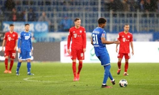 Bayern Munich tạo nên trận đấu kỳ lạ tại Bundesliga