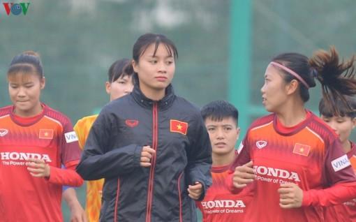 Hoàng Thị Loan chấn thương trước ngày ĐT nữ Việt Nam đấu Australia