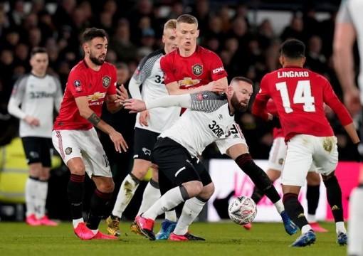 Đè bẹp Derby County, MU thẳng tiến tứ kết FA Cup